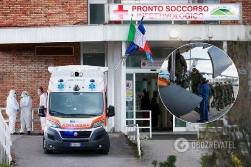 Замість медиків – військові: в Італії викрили гумконвой Путіна для боротьби з коронавірусом