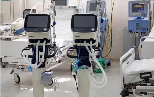 Коронавірус в Україні: на Київщині є 204 апарати ШВЛ