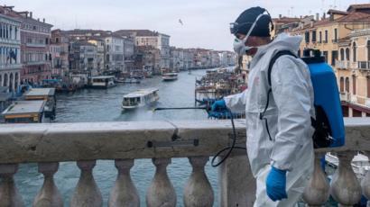 Італія лідирує за кількістю жертв коронавірусу