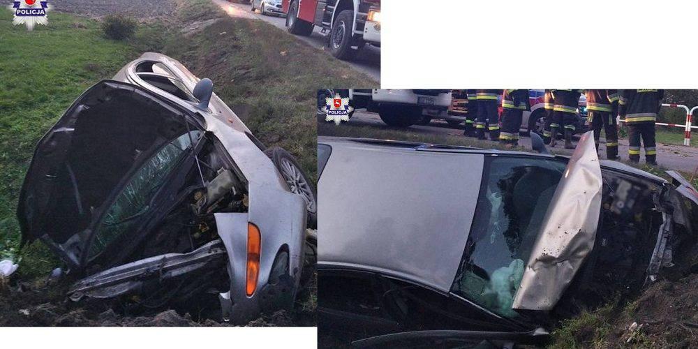 Тест-драйв п'яного українця у Польщі закінчився розбитим авто