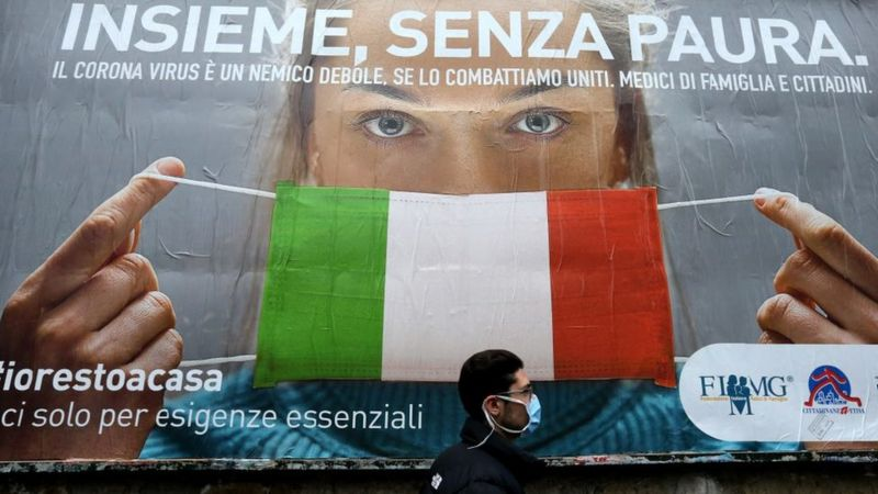 Новий антирекорд: Італія посилила карантин через критичну ситуацію з коронавірусом