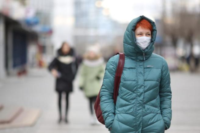 Лікар оцінив необхідність носіння масок при мінусовій температурі