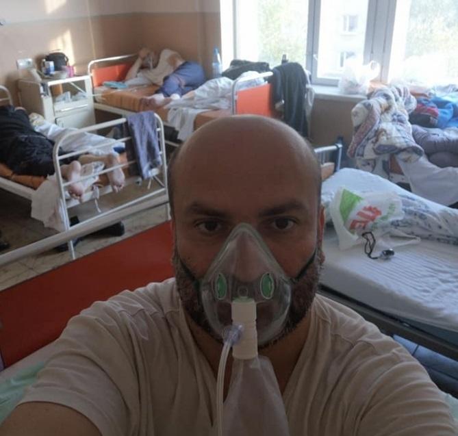 """""""З нашої палати тільки я один вижив, всі інші п'ятеро померли"""": чоловік розповів про те як боровся з коронавірусом у лікарні"""