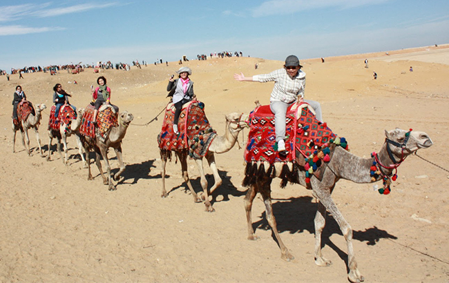 Єгипет змінив вимоги до тесту на коронавірус для українських туристів
