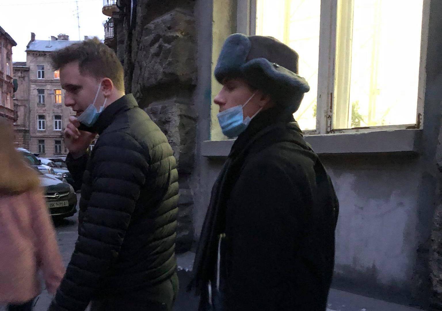 У Львові порушили справу проти чоловіка у шапці-вушанці