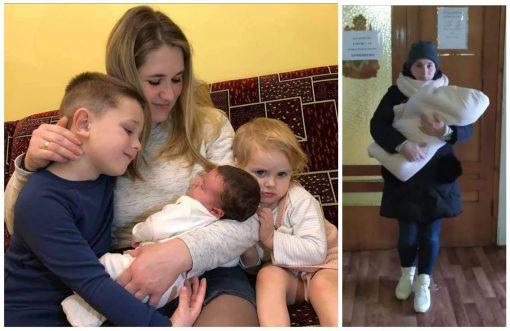 Молода мама з Франківська, народила дівчинку з важкою недугою, потрібна допомога
