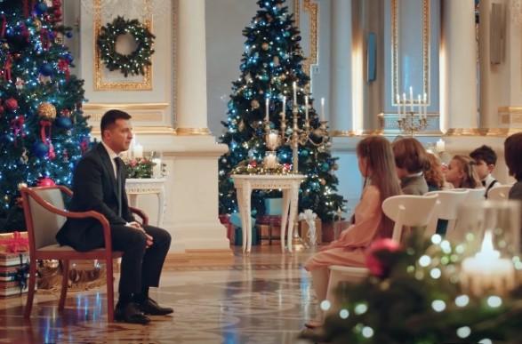 У Зеленського пояснили присутність дітей в новорічному зверненні Президента