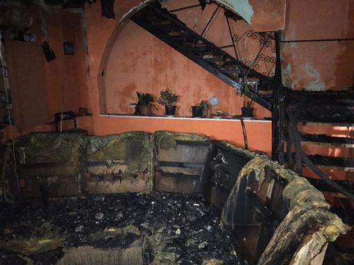 Пожежа в харківському будинку для літніх людей: затримано 4 осіб