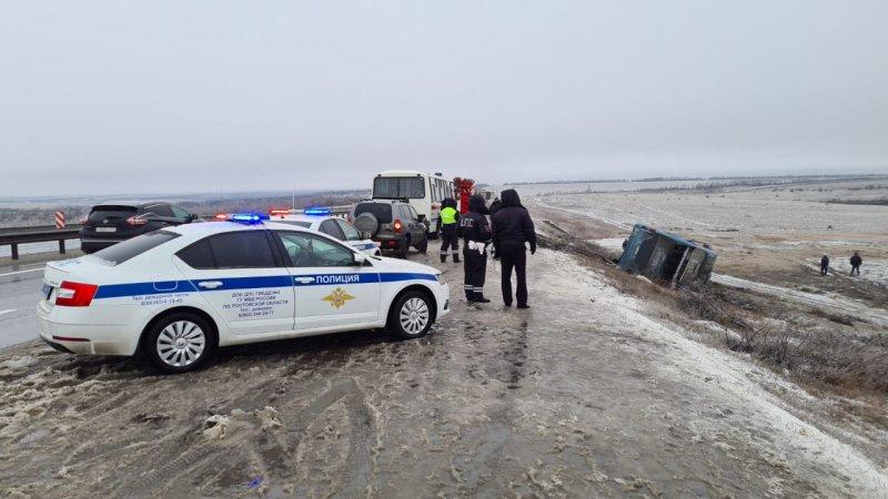 У Росії перекинувся автобус з українцями, є загиблі. ФОТО