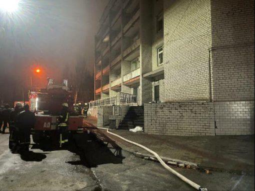 Пожежа в лікарні у Запоріжжі: у COVID-відділенні загинули три пацієнтки і лікар, відкрито провадження